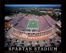 A1 Spartan Stadium Aerial Michigan State 8x10 Photo