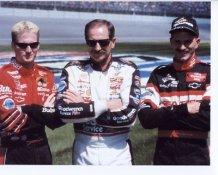 Dale Earnhardt Jr. Dale Sr. & Kerry Earnhardt Photo 8X10
