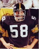 Jack Lambert Pittsburgh LIMITED STOCK Steelers 8x10 Photo