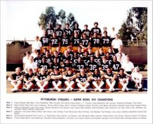 Steelers 1979 Super Bowl 14 Champs Team Photo Pittsburgh Steelers 8x10 Photo
