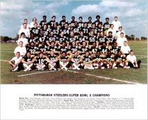 Steelers 1976 Super Bowl 10 Champs Team Photo Pittsburgh Steelers 8x10 Photo