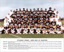 Steelers 1978 Super Bowl 13 Champs Team Photo Pittsburgh Steelers 8x10 Photo