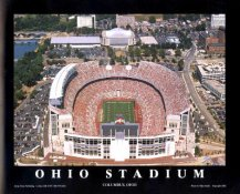 A1 Ohio State Stadium Aerial Ohio State Buckeyes 8x10 Photo