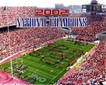N2 Ohio State Stadium Buckeyes 2002 National Champs  8x10 Photo