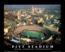 A1 Pitt Stadium Aerial Panthers Final Game vs ND 8x10 Photo