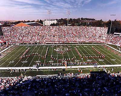 N2 Cougar Stadium Washington State University College Football  8x10 Photo