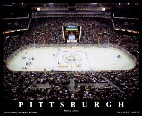 A1 Mellon Arena Pittsburgh Penguins  8x10 Photo