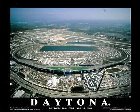 A1 Daytona Speedway Taken the day of Dale Earnhardt Death 2/18/01  8x10 Photo