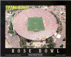 A1 Rose Bowl Pasadena Ca. Women's World Cup Soccer Championships 7/10/99  8x10 Photo