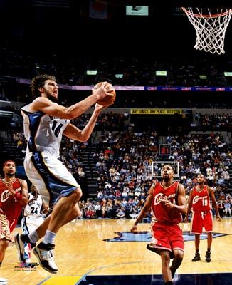 Pau Gasol Memphis Grizzlies 8X10 Photo