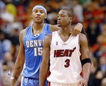 Carmelo Anthony & Dwyane Wade LIMITED STOCK 8X10 Photo