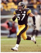 Clint Kriewaldt LIMITED STOCK Pittsburgh Steelers 8x10 Photo