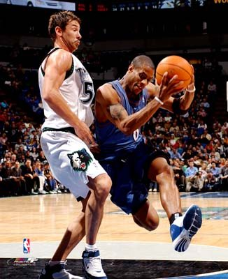 Antonio Daniels Minnesota Timberwolves 8X10 Photo LIMITED STOCK