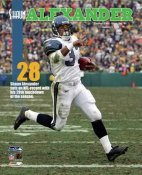Shaun Alexander 28th Touchdown Seattle Seahawks 8X10 Photo