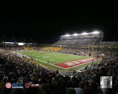 N2 Alumni Stadium Boston College Football 8x10 Photo
