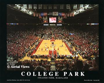 A1 Comcast Center College Park Maryland  8x10 Photo