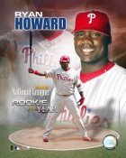 Ryan Howard LIMITED STOCK ROY Phillies 8X10 Photo