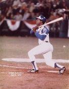 Hank Aaron Home Run #715 Braves Limited Stock 8X10 Photo