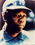 Hank Aaron Brewers Coach 8X10 Photo