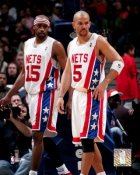 Vince Carter & Jason Kidd NJ Nets 8X10 Photo