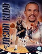 Jason Kidd Portrait New Jersey Nets 8X10 Photo