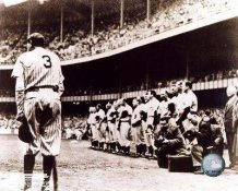 Babe Ruth Farewell At Yankee Stadium 8X10 Photo