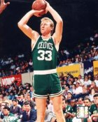 Larry Bird Boston Celtics SATIN 8X10 Photo LIMITED STOCK