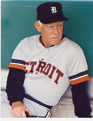 Sparky Anderson Detroit Tigers 8X10 Photo