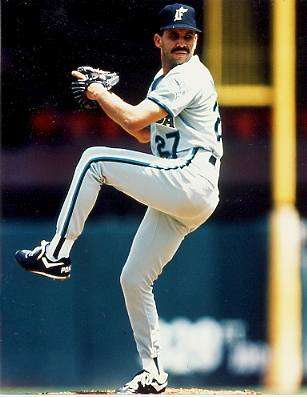 Luis Aquino  Florida Marlins 8X10 Photo