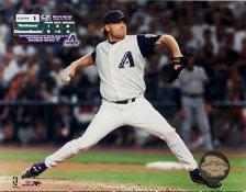 Curt Shilling Game 1  2001 World Series 8x10 Photo