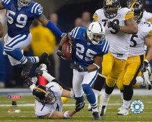 "Ben Roethlisberger LIMITED STOCK ""THE TACKLE"" Steelers vs. Colts 8x10 Photo"