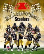 Steelers 2005 AFC Champs Pittsburgh Team LIMITED STOCK 8x10 Photo