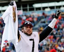 Ben Roethlisberger AFC Champs LIMITED STOCK Pittsburgh Steelers 8x10 Photo
