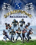 NFC 2006 Champs Seattle Seahawks 8X10 Photo