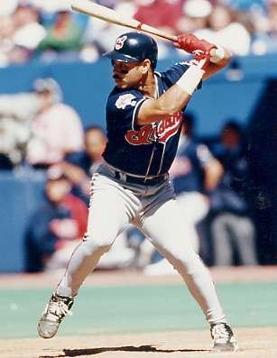 Carlos Baerga Cleveland Indians 8X10 Photo