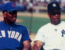 Bobby Bonilla & Danny Tartabull New York 8X10 Photo