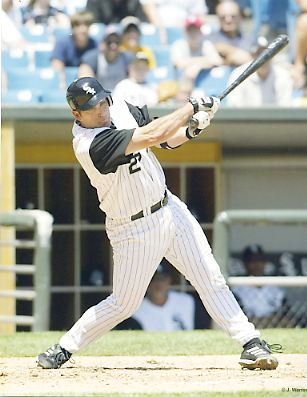 James Burke Chicago White Sox 8x10 Photo