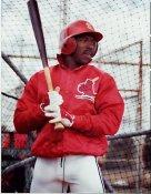 Vince Coleman St. Louis Cardinals 8X10 Photo