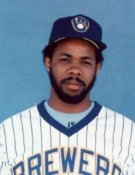 Cecil Cooper Milwaukee Brewers 8x10 Photo