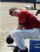 Len Dinardo Boston Red Sox 8x10 Photo