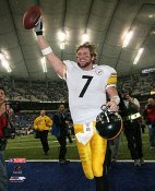 Ben Roethlisberger Playoffs LIMITED STOCK Steelers 8x10 Photo