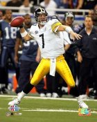 Ben Roethlisberger Super Bowl 40 Steelers SATIN 8x10 Photo