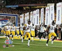 Steelers 2006 Entrance Super Bowl 40 LIMITED STOCK 8x10 Photo