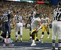 Ben Roethlisberger Super Bowl 40 TD Steelers 8x10 Photo
