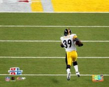 Willie Parker Super Bowl 40 TD Run Steelers 8x10 Photo