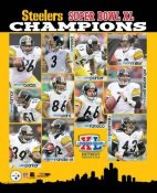 Steelers 2006 Super Bowl 40 Champs Composite LIMITED STOCK 8x10 Photo