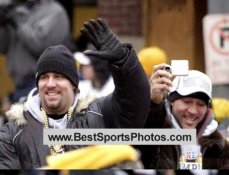 Ben Roethlisberger & Charlie Batch Parade Super Bowl 40 LIMITED STOCK 8x10 Photo