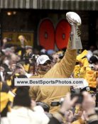 Jerome Bettis LIMITED STOCK Victory Parade Super Bowl 40 XL 8x10 Photo