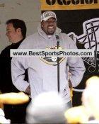Joey Porter & Bob Pompiani Victory Parade Super Bowl 40 LIMITED STOCK 8x10 Photo