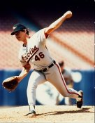 Mike Flanagan Baltimore Orioles 8X10 Photo